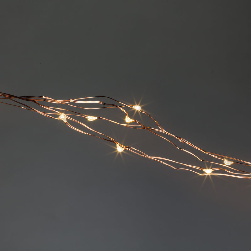 Spray LED 200 Lightstring - Copper -  Le Petite Putti Canada