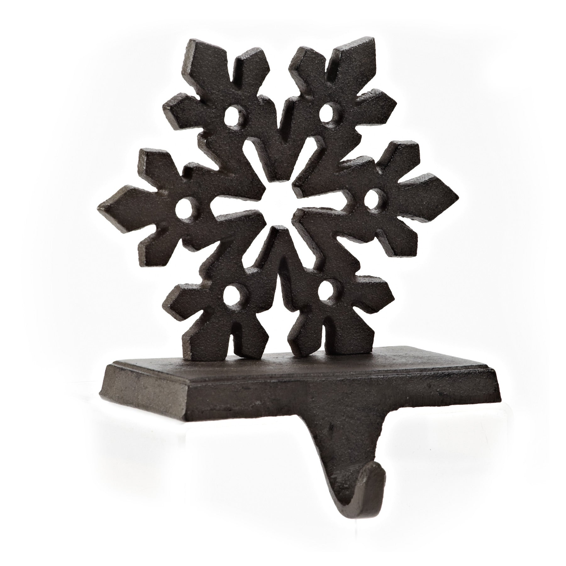 Snowflake Stocking Holder -  Christmas - AC-Abbott Collection - Putti Fine Furnishings Toronto Canada