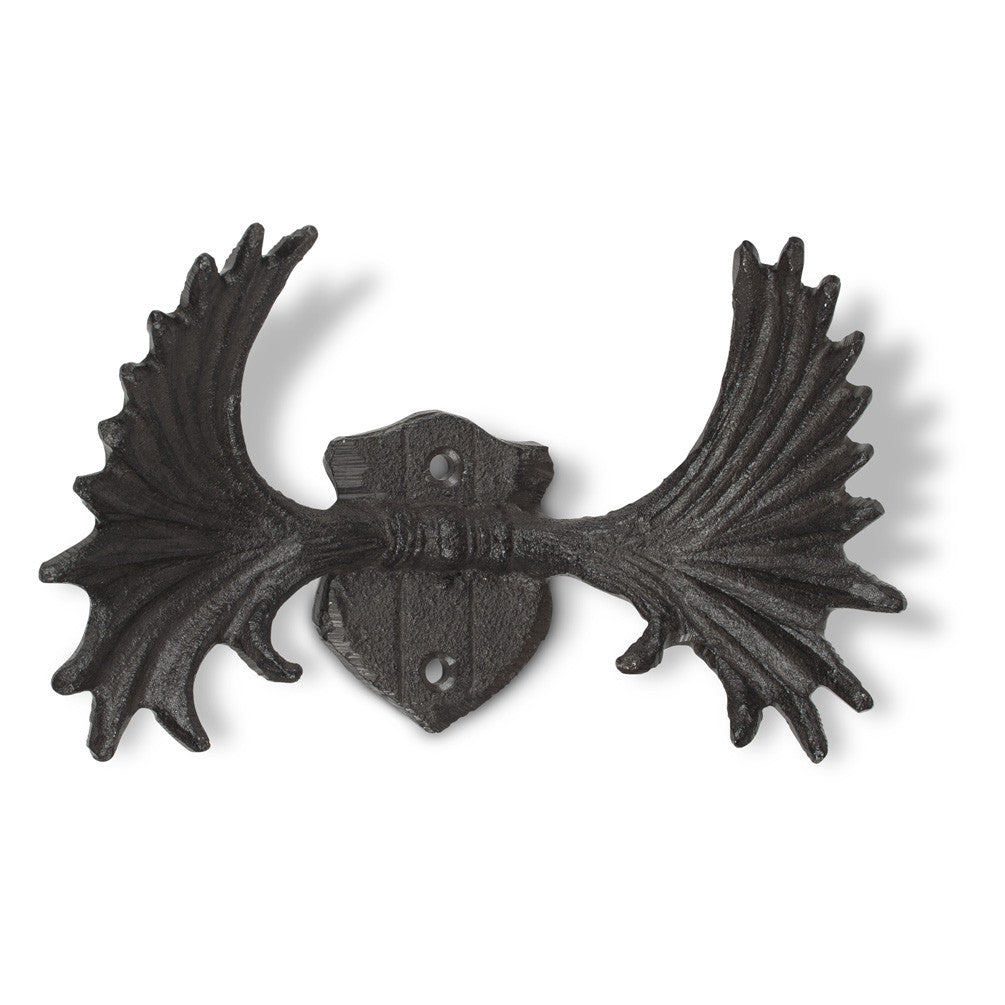 Moose Antler Wall Hook-Accessories-AC-Abbott Collection-Putti Fine Furnishings