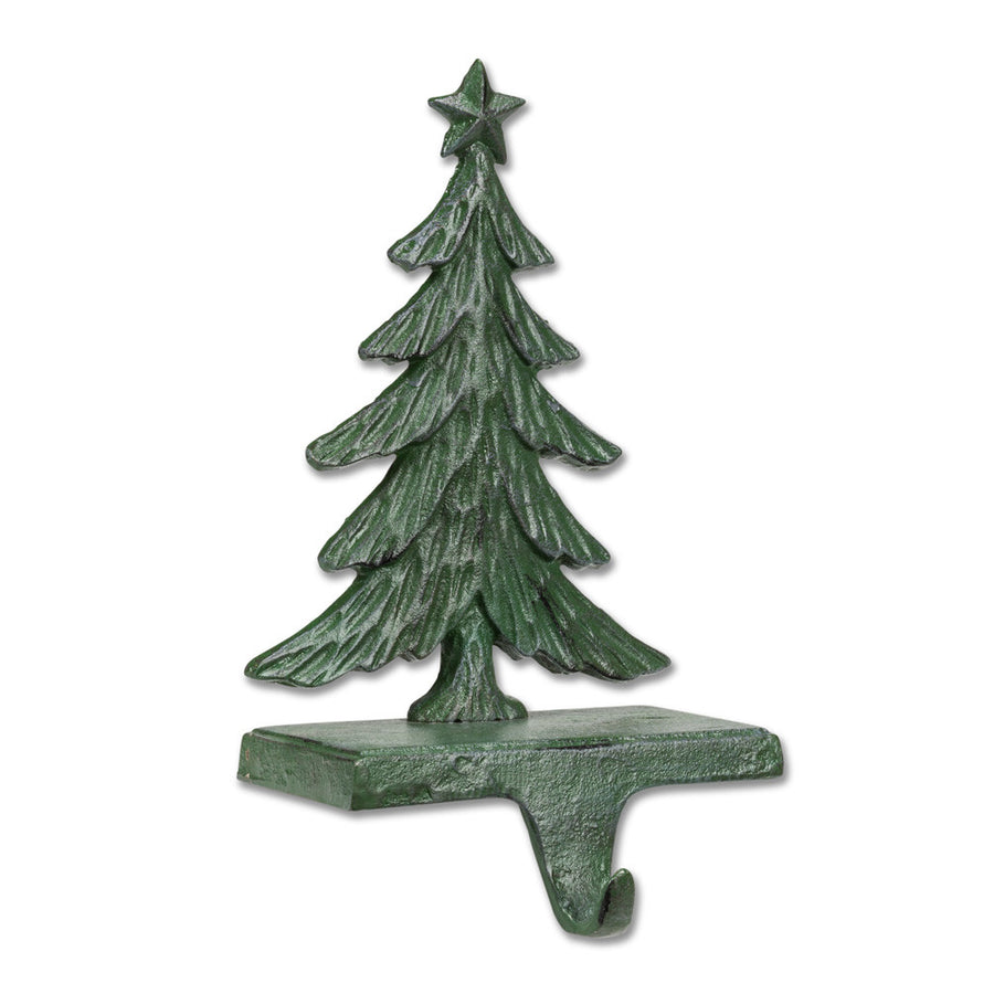 Christmas Tree Stocking Holder - Green