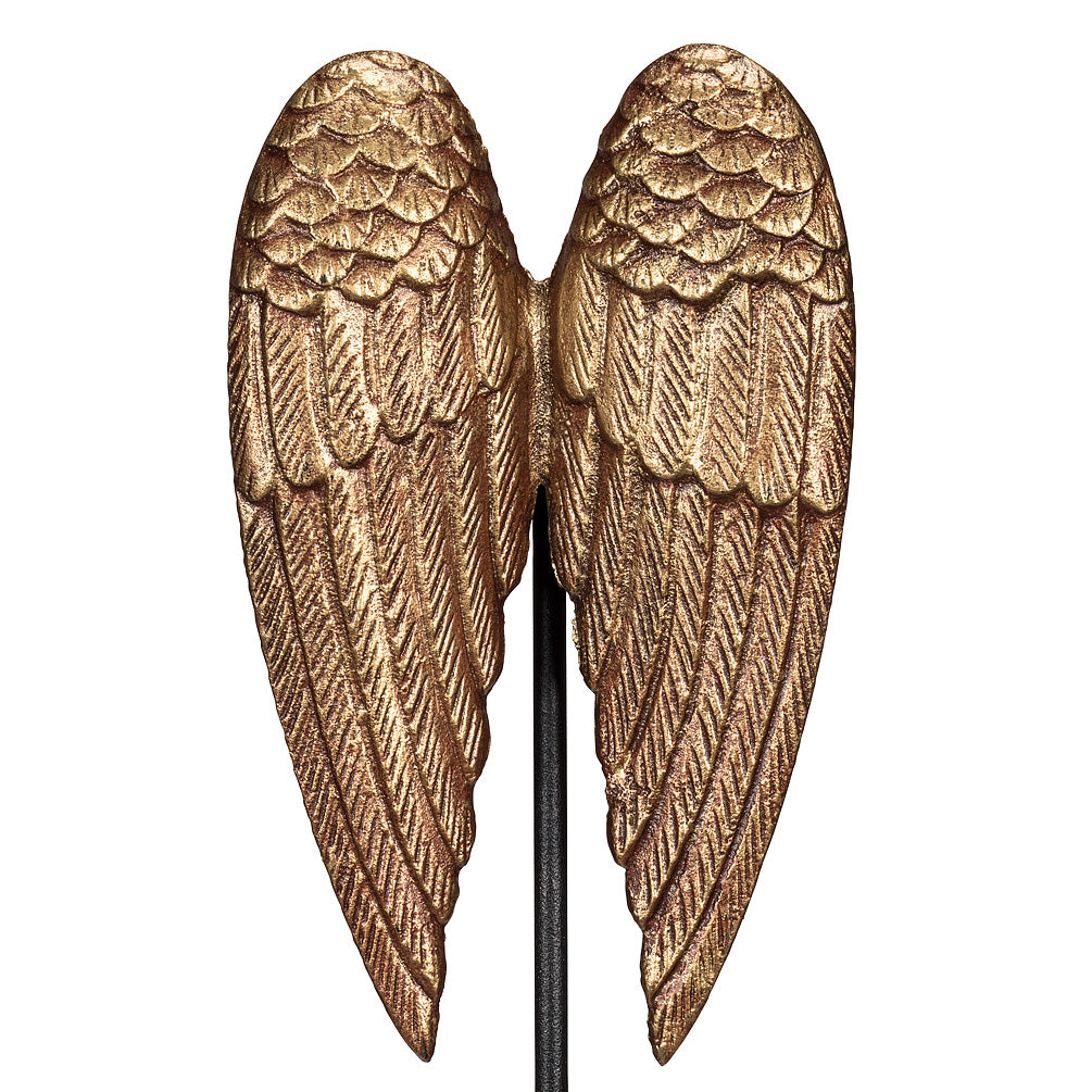 Angel Wing Wall Decor/Stake, AC-Abbot Collection, Putti Fine Furnishings