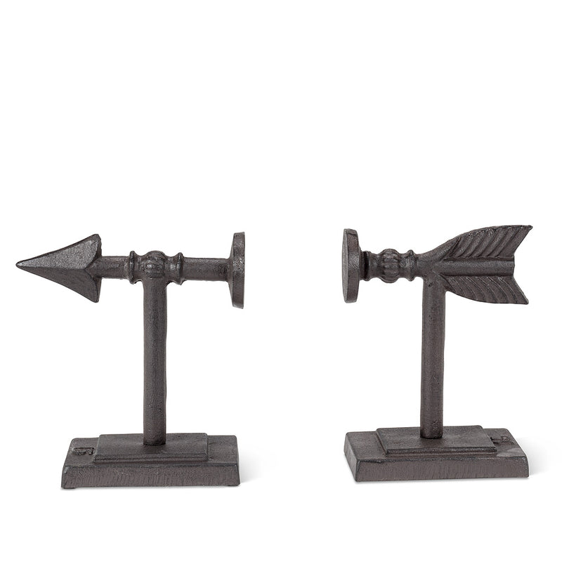 Industrial Arrow Bookends, AC-Abbott Collection, Putti Fine Furnishings