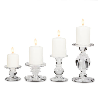 Reversible Pillar / Taper Candle Holder -  Candle Accessories - AC-Abbot Collection - Putti Fine Furnishings Toronto Canada - 3