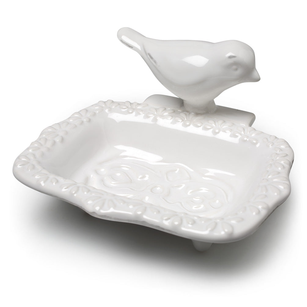 Bird Soap Dish - Putti Fine Furnishings Canada