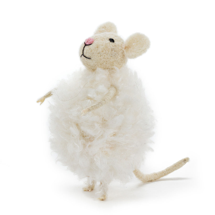 Felt Mouse In Snowball