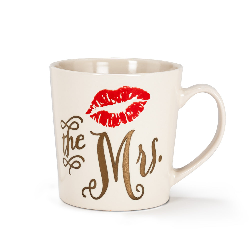 Large Mug with Lips- The Mrs