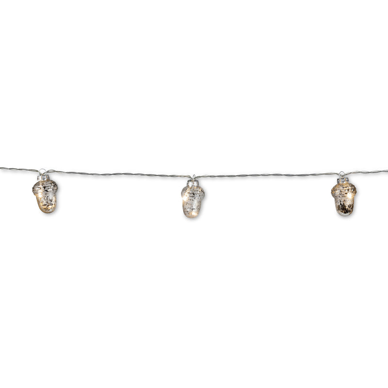Silver Acorn Light String, AC-Abbott Collection, Putti Fine Furnishings