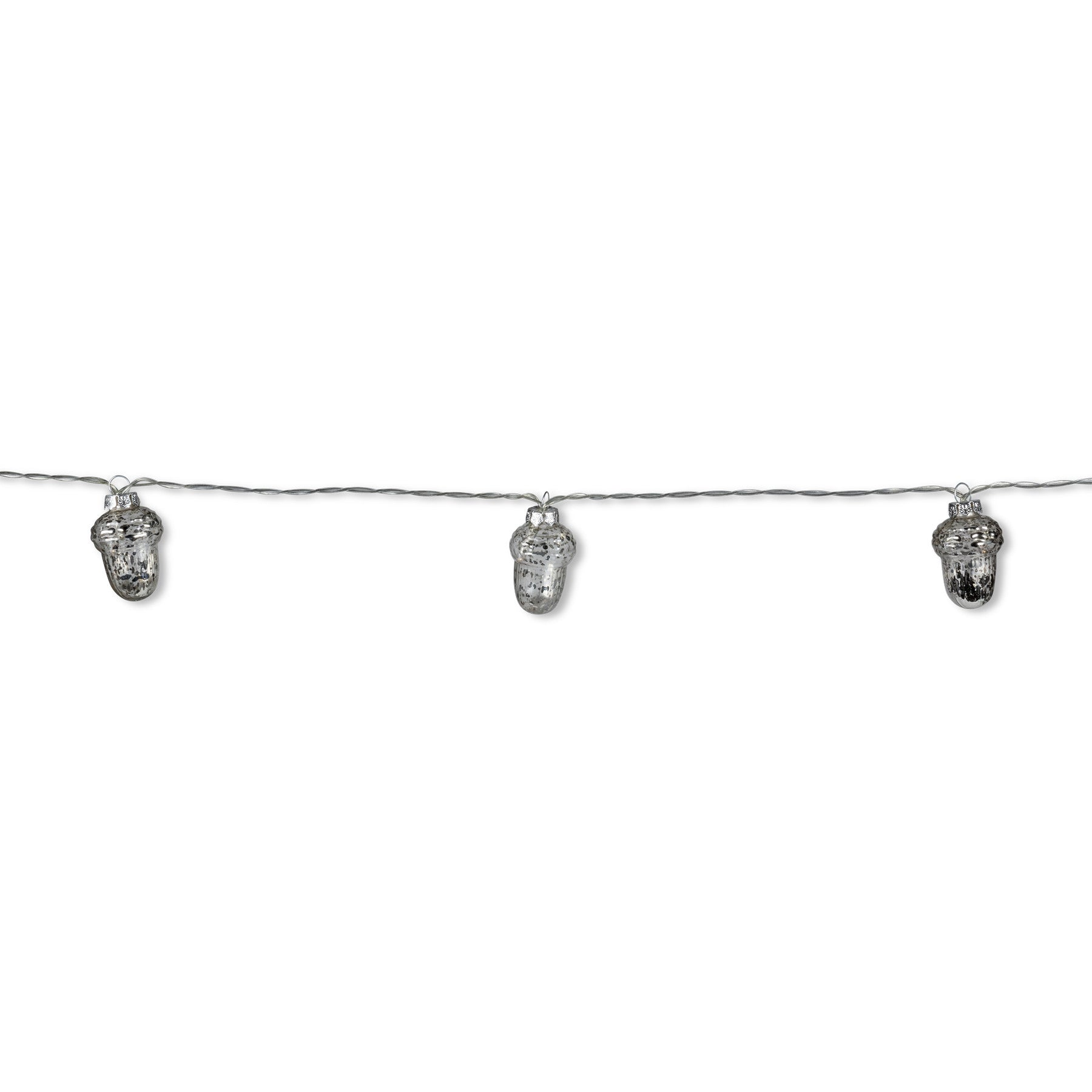 Silver Acorn Light String
