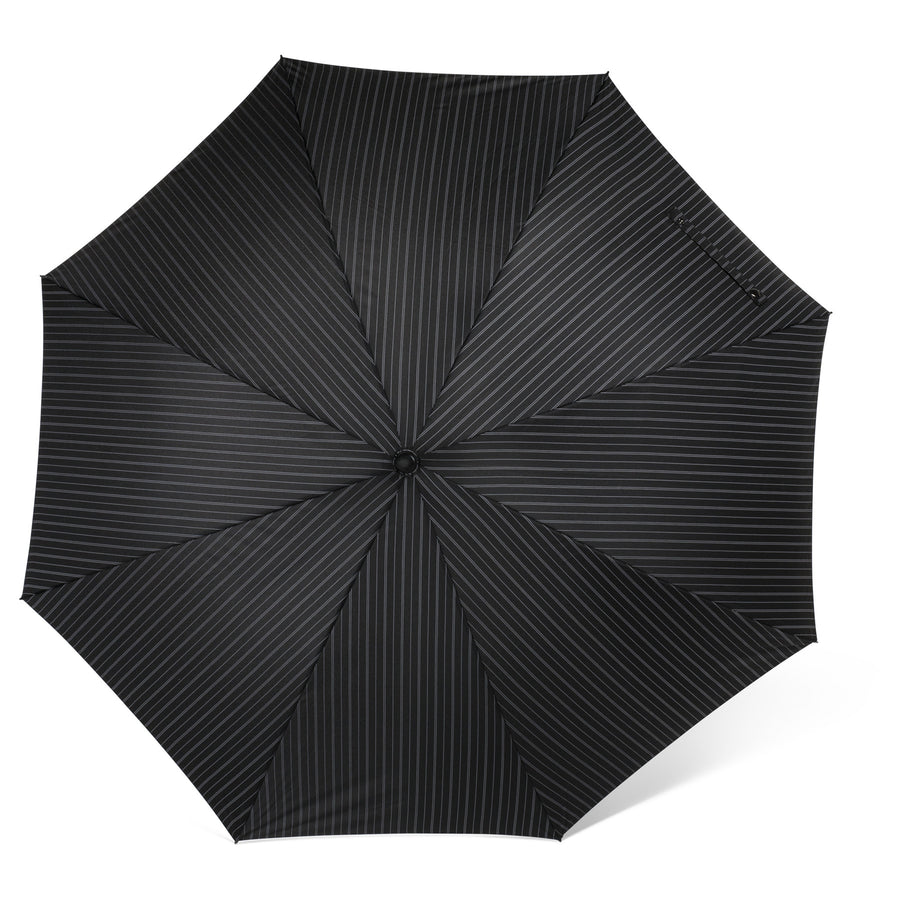 Black Pinstripe Umbrella