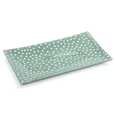 Rectangle Plate with Dots