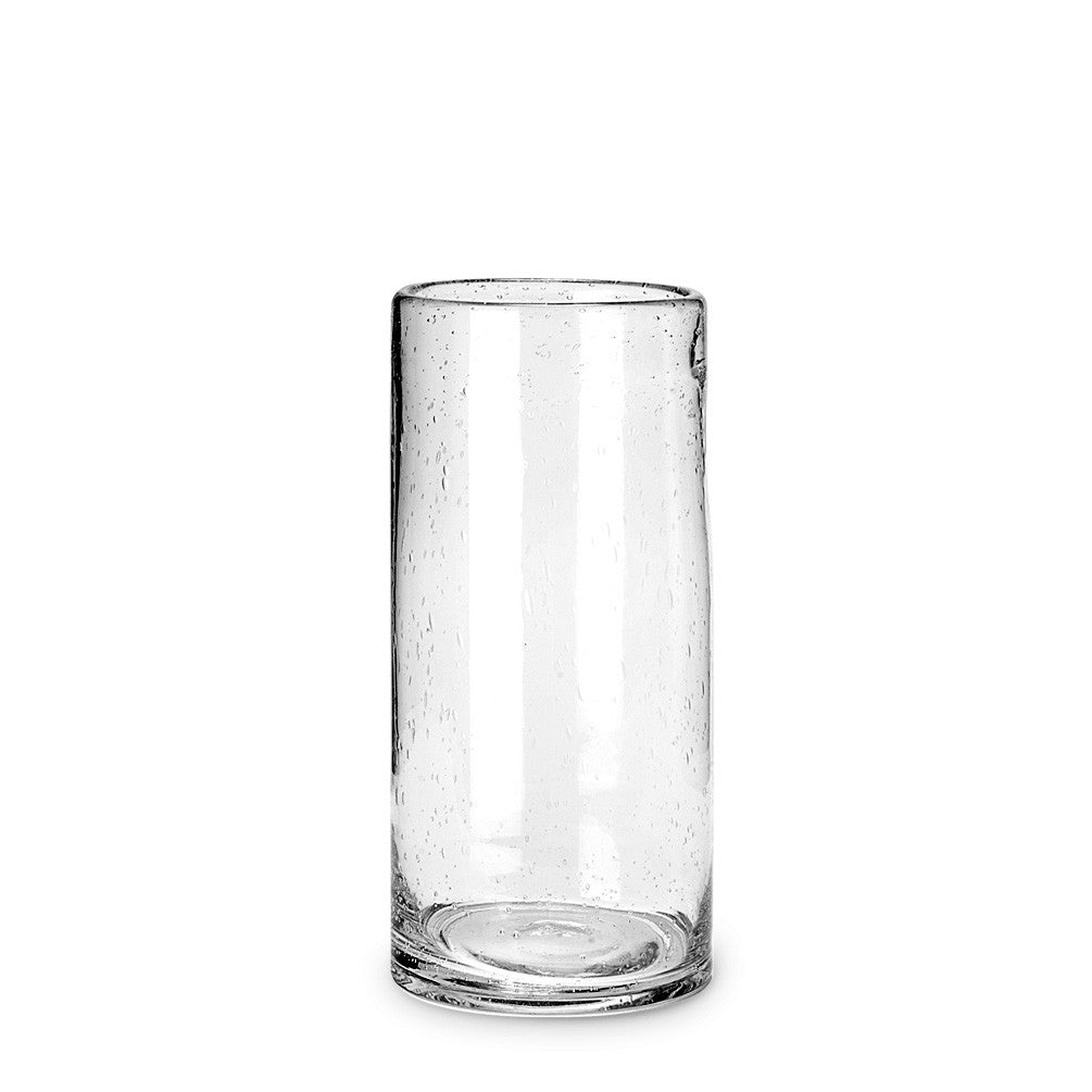 Seeded Glass Cylinder Vase - Medium -  Accessories - AC-Abbott Collection - Putti Fine Furnishings Toronto Canada - 1