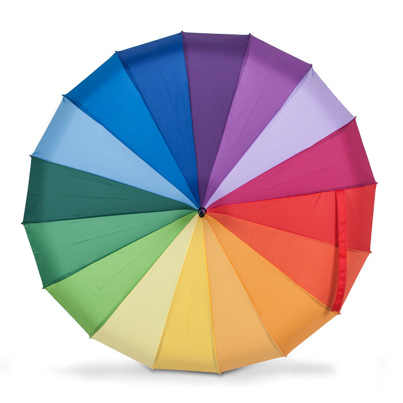 Colour Wheel Pagoda Umbrella, AC-Abbott Collection, Putti Fine Furnishings