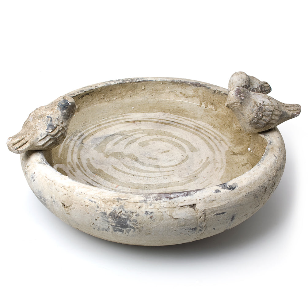 Low Round 3 Bird Bowl - Putti Fine Furnishings Canada