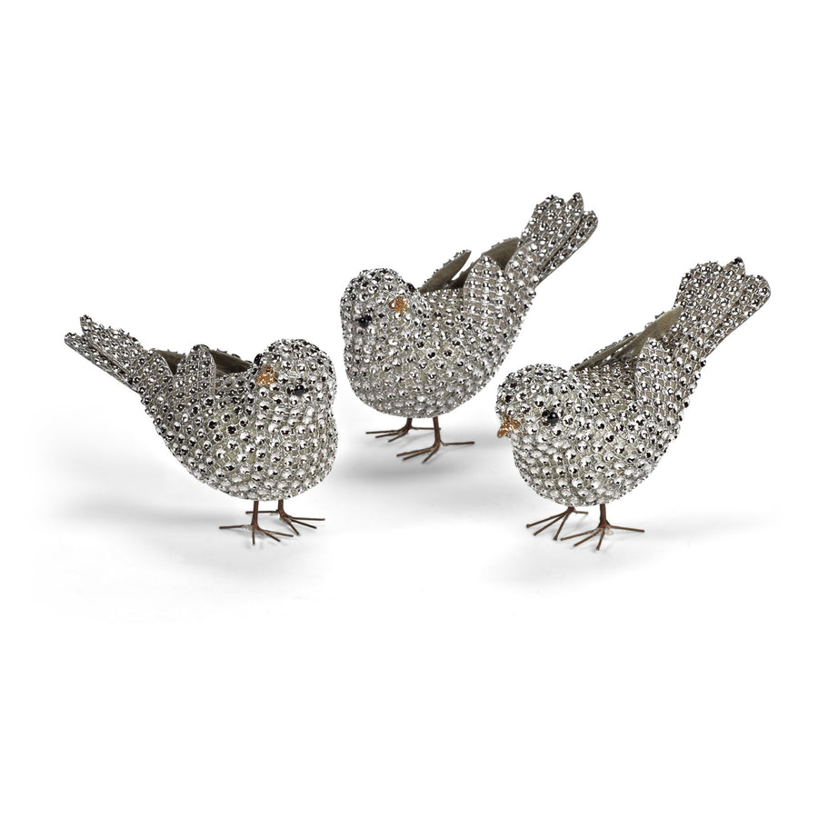 Small Rhinestone Birds