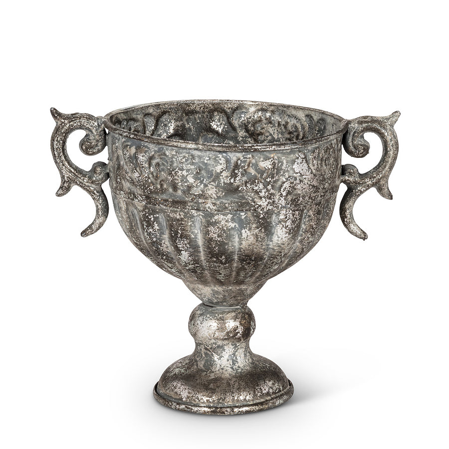 Wide Urn with Handles