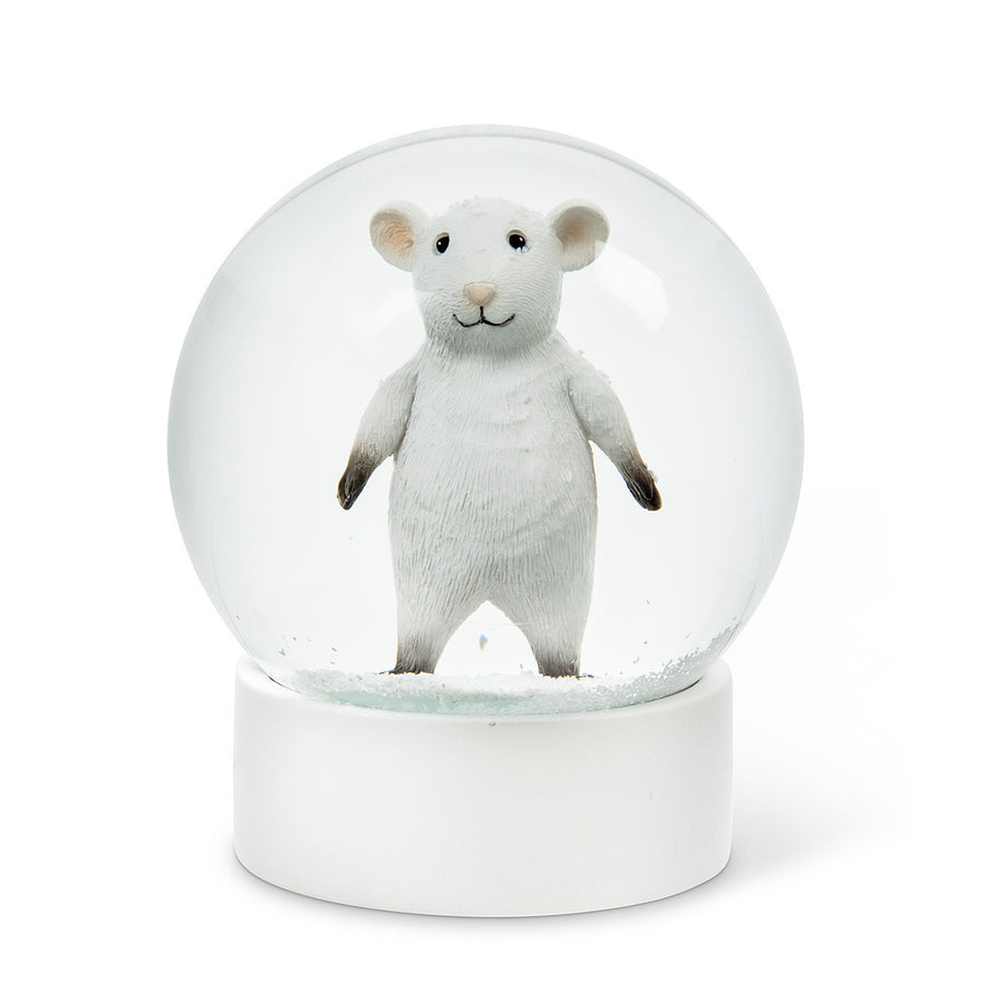 Standing Mouse Snow Globe