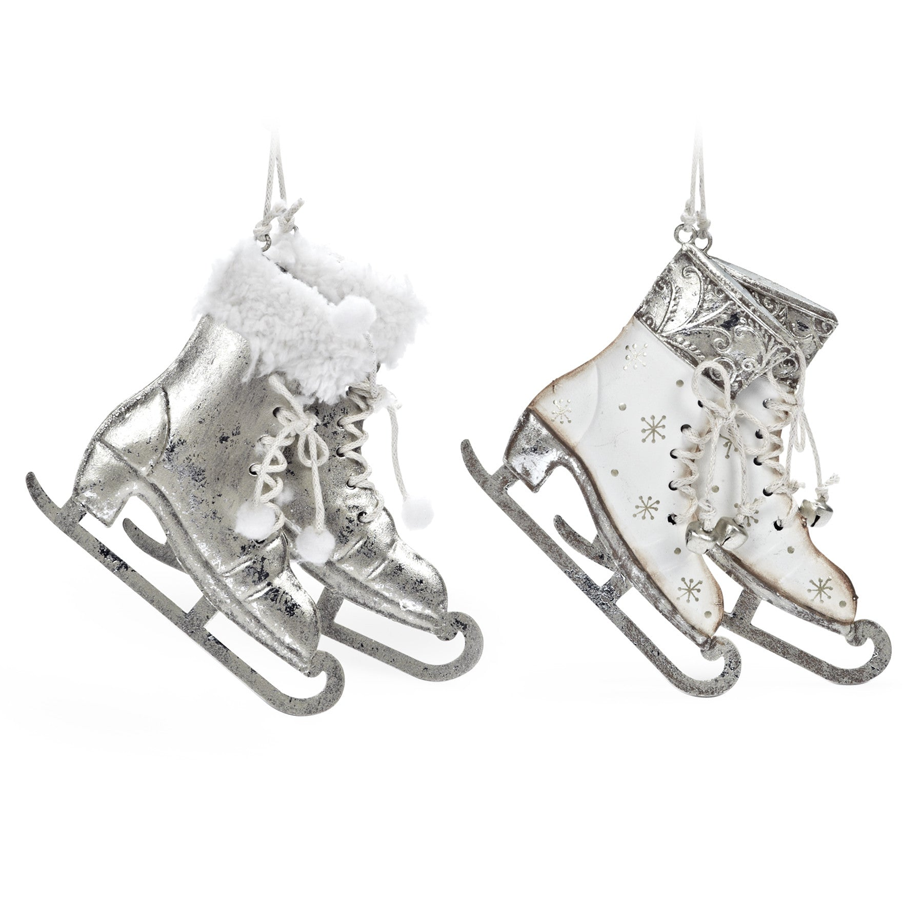 Skate Ornaments and Decorations | Putti Christmas - Putti Fine ...