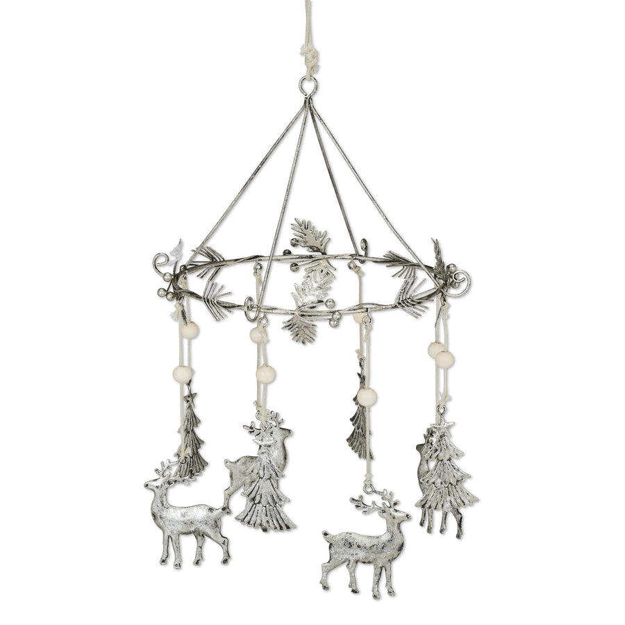 Deer and Tree Christmas Mobile, AC-Abbott Collection, Putti Fine Furnishings