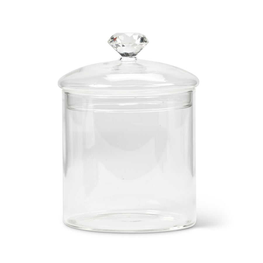 Gem Top Covered Jar