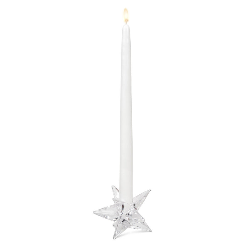 Glass Star Taper Holder -  Christmas - AC-Abbot Collection - Putti Fine Furnishings Toronto Canada