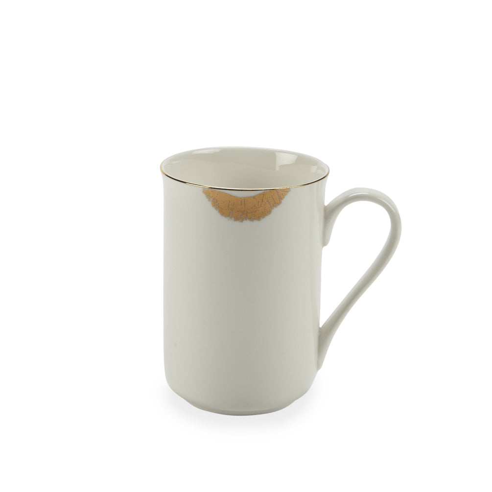 Gilded Kiss Mug | Putti fine Furnishings Canada