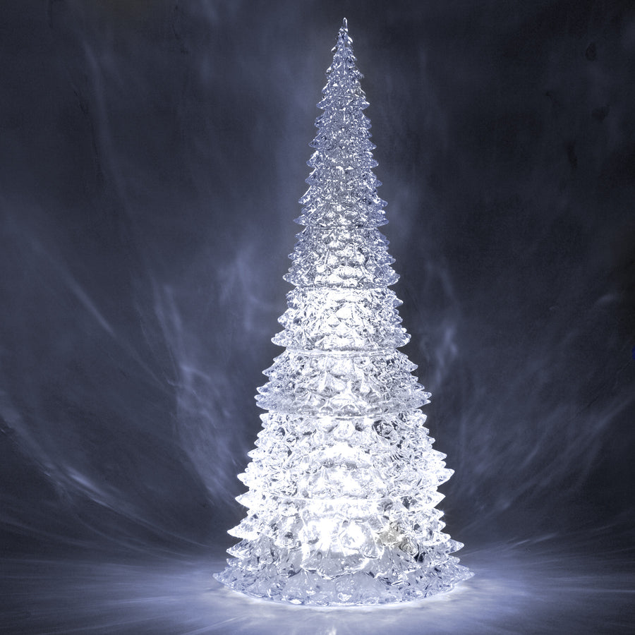 Ice Cone tree with LED Light - Large
