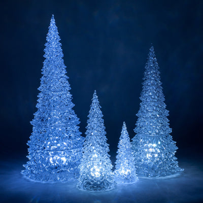 Ice Cone tree with LED Light - Medium -  Christmas - Abbot Collection - Putti Fine Furnishings Toronto Canada - 3