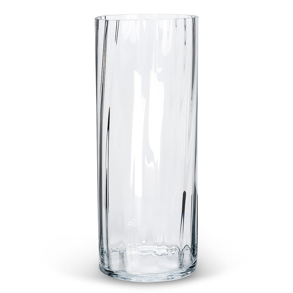 Large Optic Cylinder Vase -  Accessories - AC-Abbott Collection - Putti Fine Furnishings Toronto Canada - 1