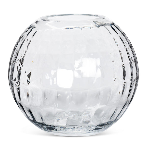 Large Optic Rose Vase -  Accessories - AC-Abbott Collection - Putti Fine Furnishings Toronto Canada - 1