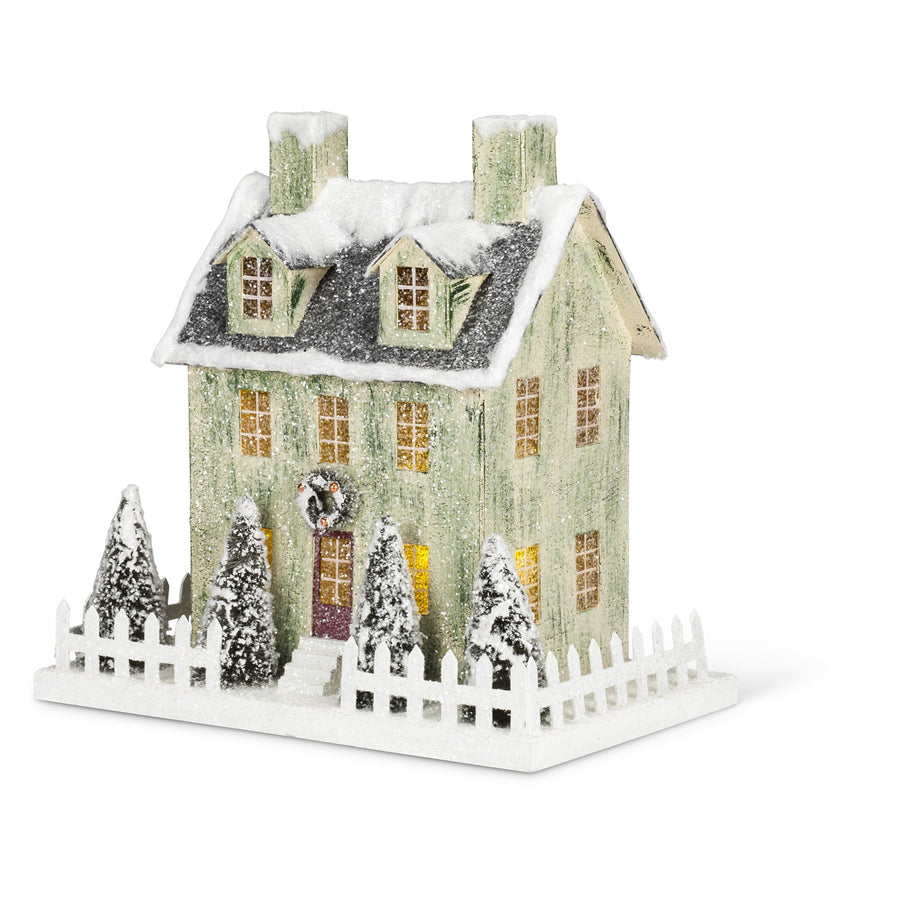 Christmas Village House with LED Light - Large