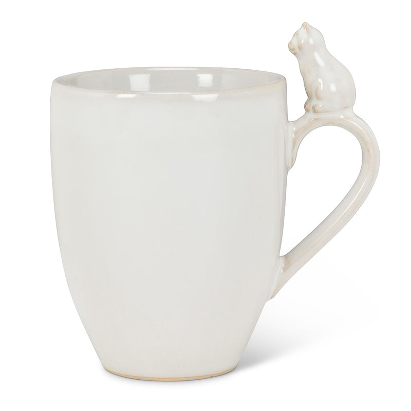 Cat on Handle Mug | Putti Fine Furnishings