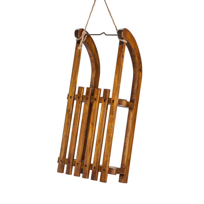 Large Slat Sled -  Christmas - Abbot Collection - Putti Fine Furnishings Toronto Canada - 1