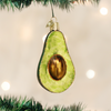 Old World Christmas Avocado Glass Ornament, OWC-Old World Christmas, Putti Fine Furnishings