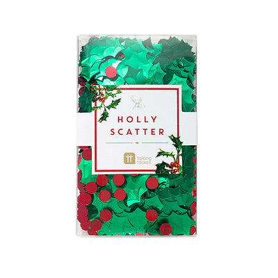Botanical Christmas Holly Scatter, TT-Talking Tables, Putti Fine Furnishings