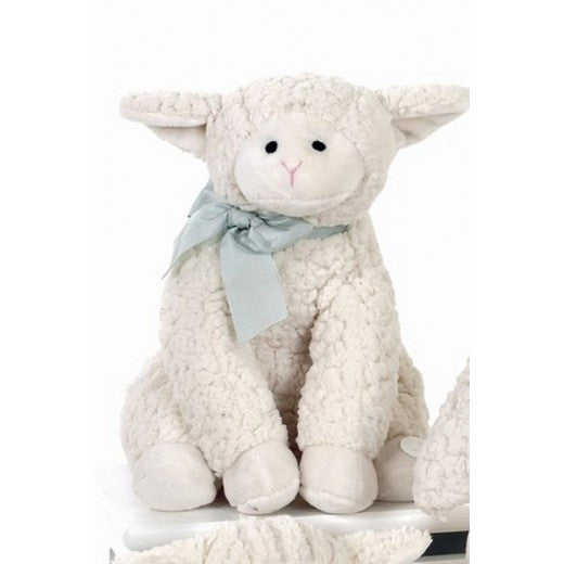 """Lamby"" Lamb - Lullaby Plush Toy -  Children's - BC-Bearington Baby Collection - Bella Flor - Putti Fine Furnishings Toronto Canada"