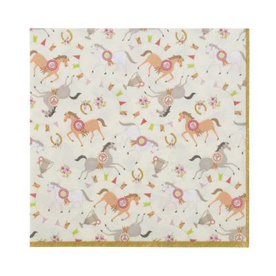 Pony Party - Paper Napkins, TT-Talking Tables, Putti Fine Furnishings
