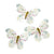 """Truly Fairy"" Butterfly Clips"
