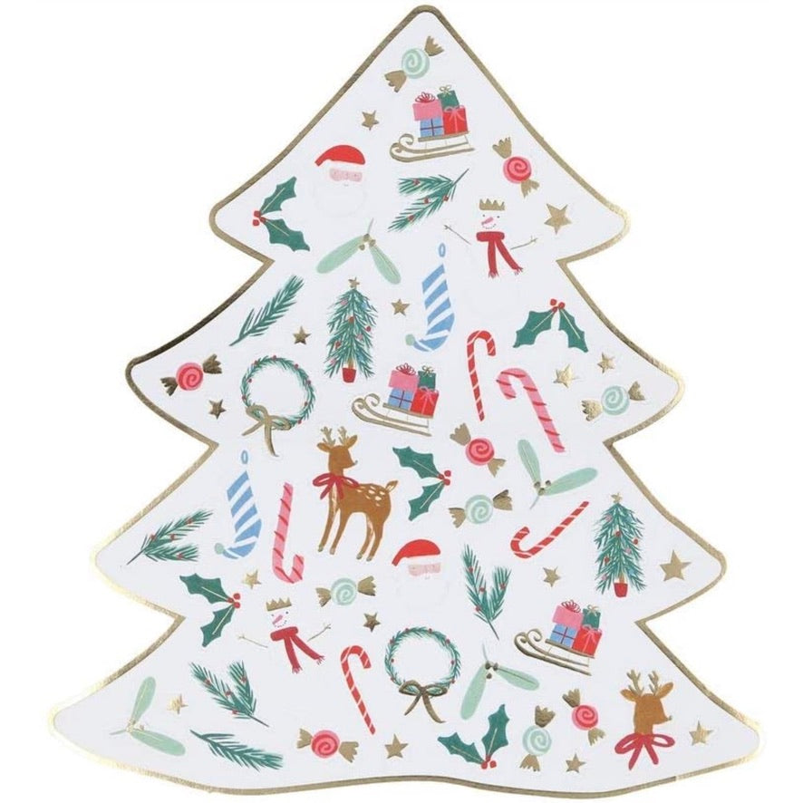 Meri Meri Christmas Mini Christmas Tree Sticker Sheets