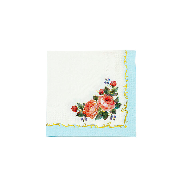 Truly Chintz Paper Napkins - Beverage, TT-Talking Tables, Putti Fine Furnishings