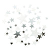Party Porcelain Silver Star Scatter, TT-Talking Tables, Putti Fine Furnishings