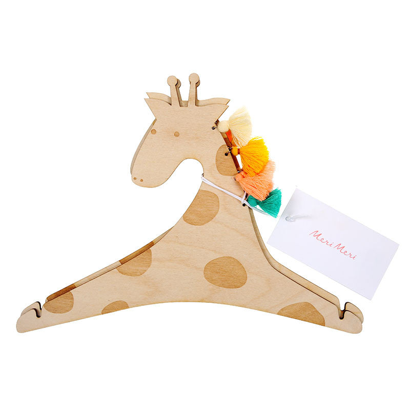 Meri Meri Giraffe Hanger -  Children's - MM-Meri Meri UK - Putti Fine Furnishings Toronto Canada