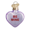 Old World Conversation Hearts Glass Ornament - Be Mine Christmas Decorations - Old World Christmas - Putti Fine Furnishings Toronto Canada - 6
