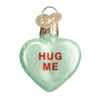 Old World Conversation Hearts Glass Ornament - Hug Me Christmas Decorations - Old World Christmas - Putti Fine Furnishings Toronto Canada - 5