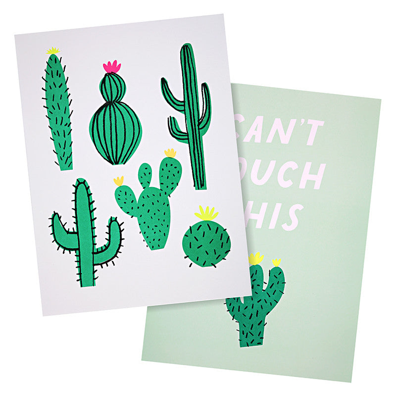 "Meri Meri ""Cactus"" Art Print, MM-Meri Meri UK, Putti Fine Furnishings"
