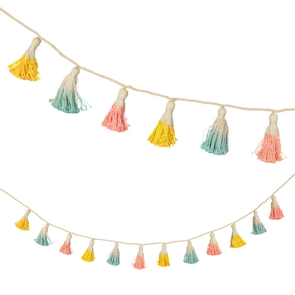 Meri Meri Dipped Tassel Garland-baby-MM-Meri Meri UK-Putti Fine Furnishings