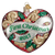 "Old World Christmas ""First Christmas"" Heart Glass Ornament, OWC-Old World Christmas, Putti Fine Furnishings"