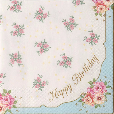 Happy Birthday Napkin -  Paper Napkins - Talking Tables - Putti Fine Furnishings Toronto Canada - 1