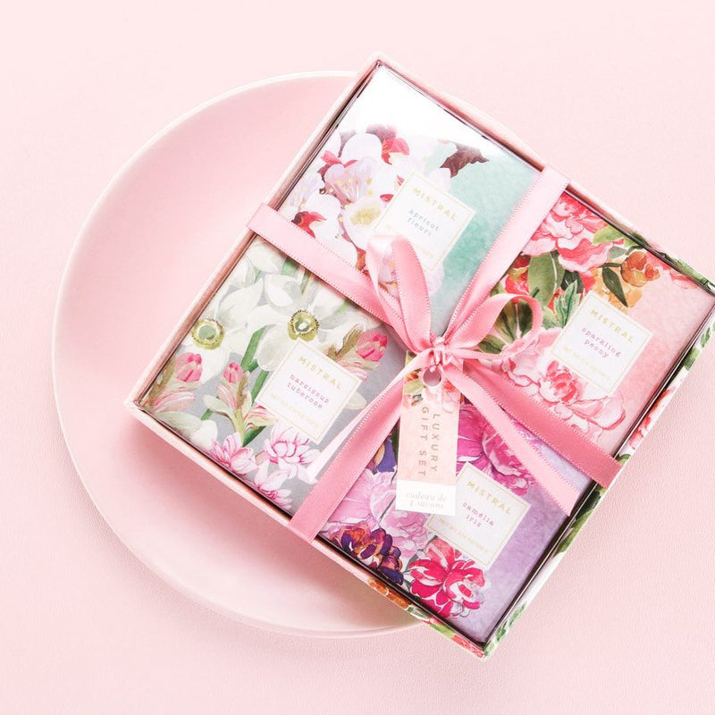 Mistral Exquisite Florals - 4 pc Gift Box Set