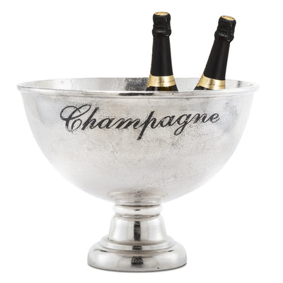 "Large ""Champagne"" Pedestal Bowl -  Serving Pieces - AC-Abbott Collection - Putti Fine Furnishings Toronto Canada - 2"