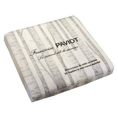 "Francoise Paviot ""Grey Forest"" Dinner Napkin, FP-Francoise Paviot, Putti Fine Furnishings"